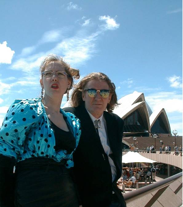 Brian and Krysstal at Sydney Opera House
